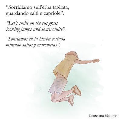 Dieci citazioni di Leonardo Manetti tradotte in Spagnolo e Inglese