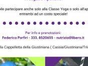 Classe Yoga all'aperto Aperitivo 100% veg!