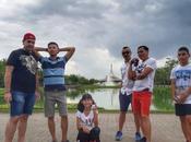 Parco Rama parco pubblico grande Bangkok