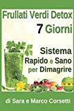 Frullati Verdi Detox 7 Giorni Sistema Rapido e Sano per Dimagrire