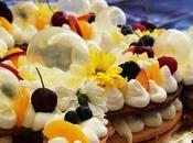 Cream tart crema Namelaka