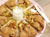 Almond Vegan Galette (Crostata rustica Fichi Mandorle)
