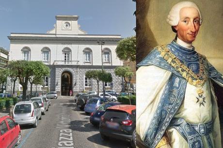 """Il sindaco cancella i Savoia dalla piazza: """"Sarà intitolata a Carlo di Borbone"""""""