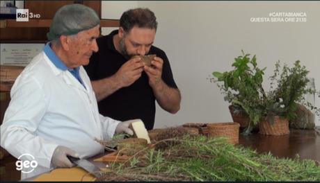 A Geo&Geo Vincenzo Mancino e i formaggi del Lazio