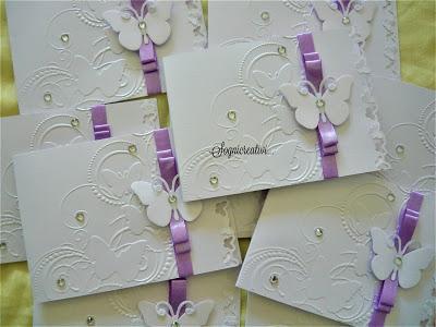 Matrimonio In Lilla : Partecipazioni matrimonio tema farfalle lilla paper