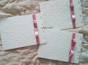 Partecipazioni matrimonio nozze ghirigori farfalle rosa antico
