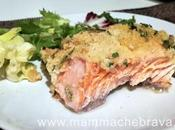 Salmone forno gratinato: facile veloce preparare