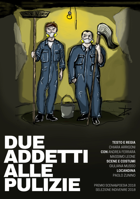 DUE ADDETTI ALLE PULIZIE – Compagnia teatrale LE ORE PICCOLE