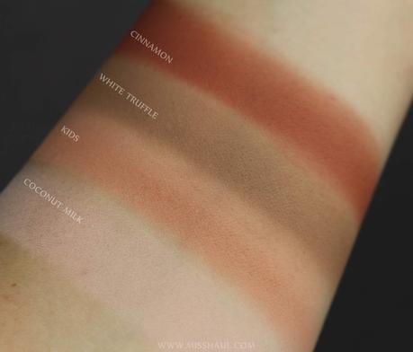 NABLA COSMETICS | The Matte Collection: swatch, comparazioni, armocromia, impressioni