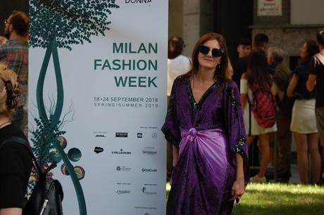EVENTI - MILANO FASHION WEEK 2018 GIORGIO ARMANI E LAURA BIAGIOTTI