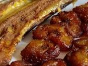 Platano arrosto fritto (Banana terra assada frita)