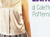 Colette Sorbetto: maglietta senza maniche cucire gratis