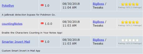[Aggiornato 24.09.2018] Cydia (iOS 9.3.x/iOS 11.x.x) – I Tweak già testati e funzionanti