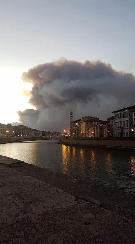 Incendio di Pisa