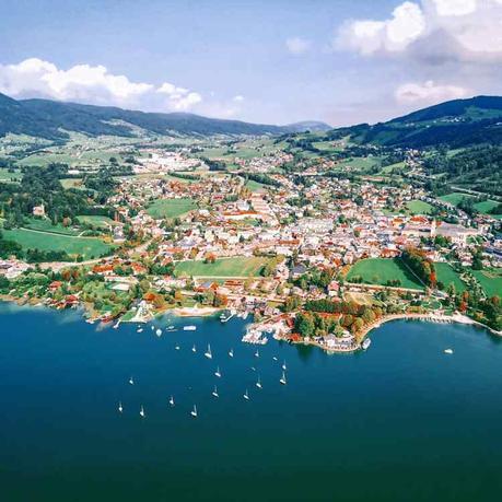 Austria per famiglie: la regione del Salzkammergut con Mondsee e il suo lago