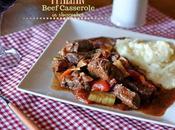 Spezzatino manzo verdure nello slowcooker Slowcooker Italian beef casserole