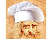 Leonardo Vinci, precursore anche cucina