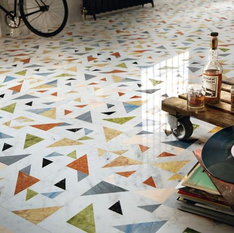 Il pavimento della nonna è tornato: la graniglia di marmo (Terrazzo Home Trend)