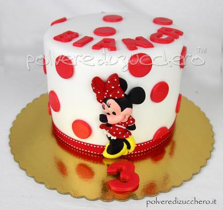torta decorata cake design Como pasta di zucchero minnie topolino compleanno gemelli varese milano chiasso mendrisio lugano ticino