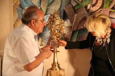 Franco Prosperi con Rita Castigli
