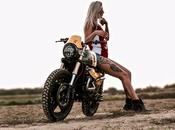 Girl with V-Twin