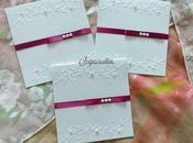 Partecipazioni matrimonio nozze tema floreale bianco bordeaux vinaccio