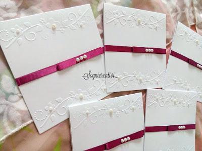 Matrimonio Tema Floreale : Partecipazioni matrimonio nozze tema floreale bianco e bordeaux