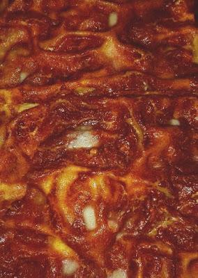Lasagne al forno con melanzane e formaggio