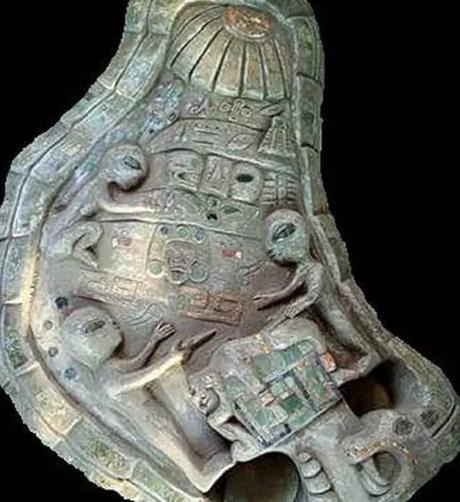 antico artefatto messico