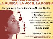 voce, poesia musica Marisa Sannia