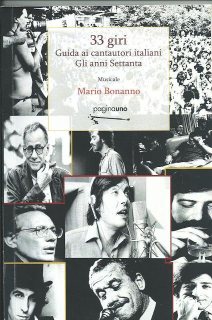 """Mario Bonanno-""""33 giri-Guida ai cantautori italiani-Gli anni Settanta"""""""