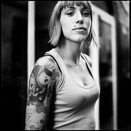 Portrait de rue - Tattoo, percing, etc. by Ivan Constantin, on Flickr
