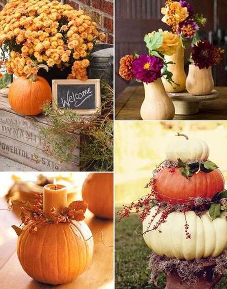 Decorazioni con le zucche: come portare il fascino dell'autunno in casa