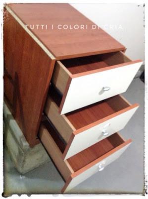 Costruire una cassettiera con pezzi avanzati