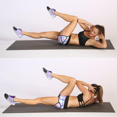 5 esercizi per avere una pancia piatta