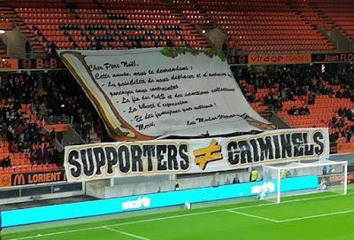Francia, Association Nationale des Supporters: 'Tifosi non criminali!'. Sciopero del tifo negli stadi francesi nei prossimi due turni contro la repressione e i divieti