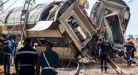 Risultati immagini per incidente ferroviario in marocco