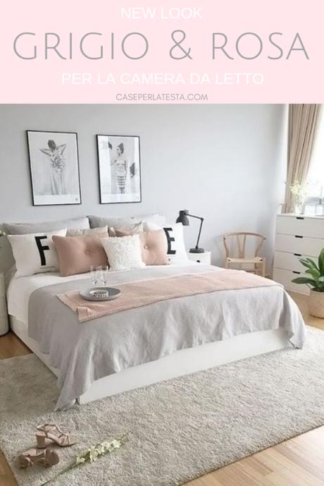 Camera da letto rosa e grigio: una combinazione perfetta! - Paperblog
