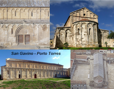 Archeologia della Sardegna. Basilica di Porto Torres: San Gavino (ante 1065-ante 1111).  Giudicato di Torres, curatoria di Flumenargia.  Articolo di Roberto Coroneo