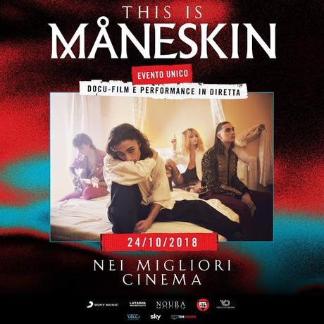 THIS IS MÅNESKIN, il film. L'evento unico con performance in diretta