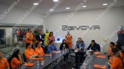 Gli scatti della presentazione ufficiale della Givova Ladies [FOTO ViViCentro]