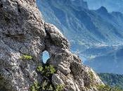 Escursione Monte Corno lungo ferrata Mora Pellegrini Passo Tremalzo
