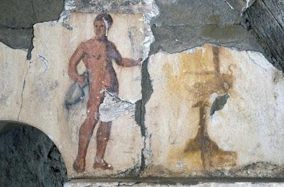 Scoperta una nuova tomba dipinta a Cuma