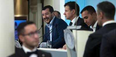 Salvini e Di Maio hanno fatto pace
