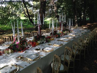 matrimonio en plein air natura