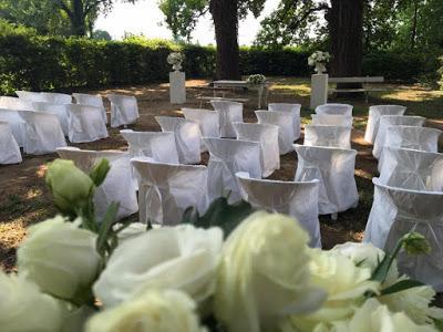 matrimonio all'aperto cerimonia
