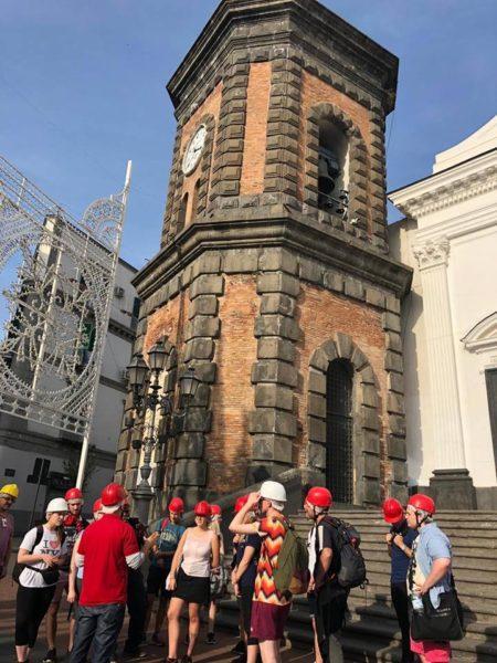 """Università inglese entusiasta di Torre del Greco: """"Percorso di lava unico"""""""