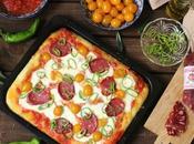 pizza taglio salame Lefkada