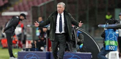 """Napoli, Ancelotti: """"Non abbiamo un Maradona, ma un gruppo di livello. Cristiano Ronaldo? Peccato sia andato alla Juve"""""""