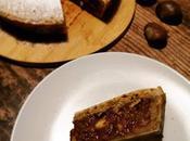 Crostata cioccolato castagne (senza burro)